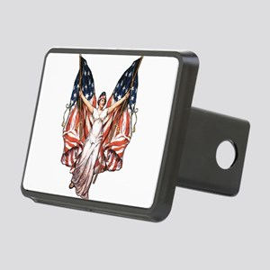 vintage-flag-bearer Rectangular Hitch Cover